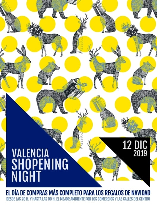 12 decembrie, Valencia Shopening Night Winter 2019