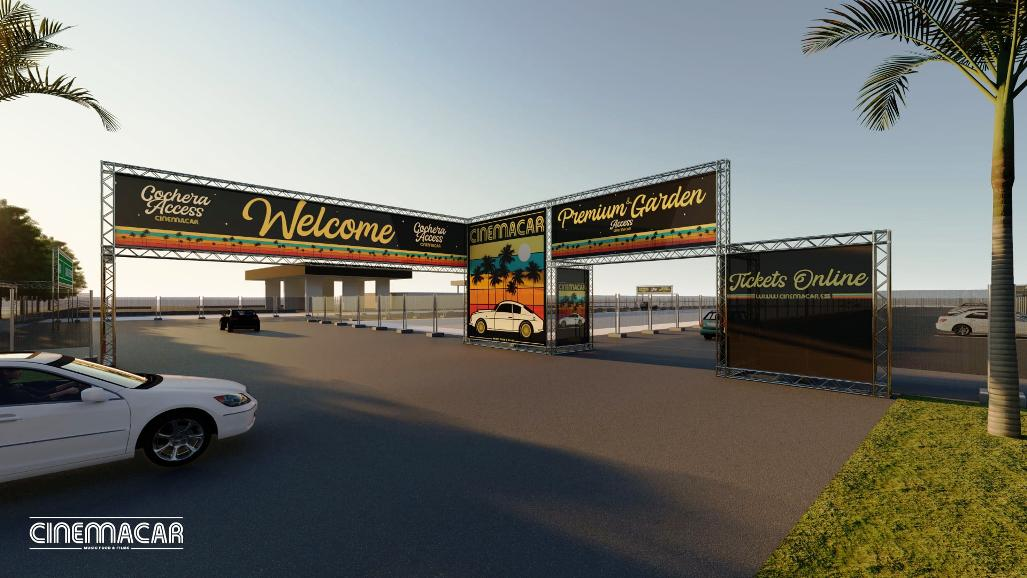 Cinemacar Alicante – The Valencian Community will be unveiling a drive-in cinema with the largest screen in Europe